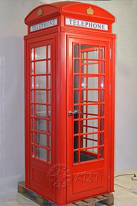 Лондонская телефонная будка со звукоизоляцией
