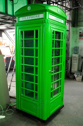 Английская телефонная будка со звукоизоляцией